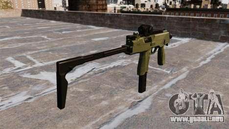 MP9 subfusil ametrallador táctico para GTA 4 segundos de pantalla