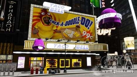 Comer McDonalds y Taco Bell para GTA 4 quinta pantalla