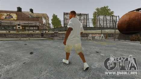 Franklin Clinton v3 para GTA 4 tercera pantalla