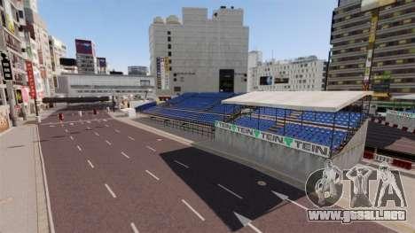 Ubicación de Shibuya para GTA 4 tercera pantalla