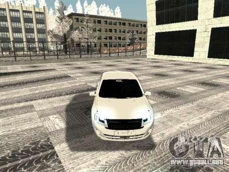 Vaz 2190-1119 para visión interna GTA San Andreas