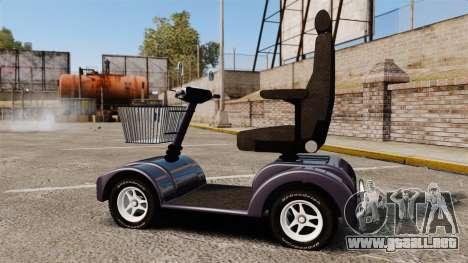 Funny Electro Scooter para GTA 4 left