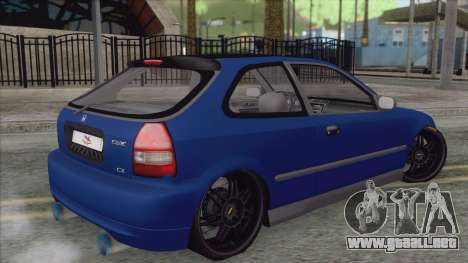 Honda Civic Tuning para GTA San Andreas left