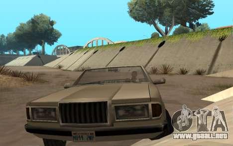 Admiral Cabrio para la visión correcta GTA San Andreas