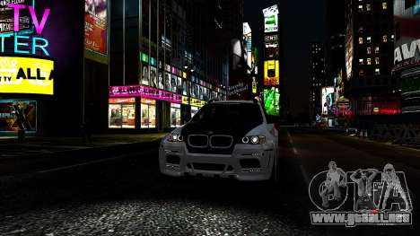 BMW X6 M Hamann 2013 Vossen para GTA 4 interior