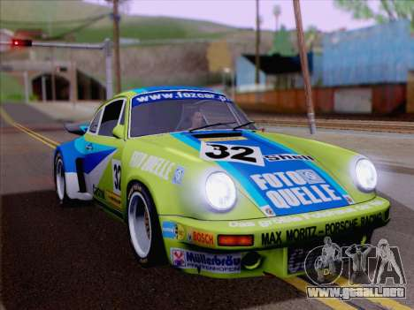 Porsche 911 RSR 3.3 skinpack 4 para GTA San Andreas
