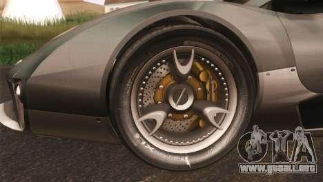 SuperMotoXL CONXERTO v2.0 para GTA San Andreas left