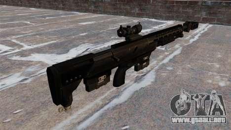 Rifle de francotirador DSR-Precision GmbH DSR-50 para GTA 4 segundos de pantalla