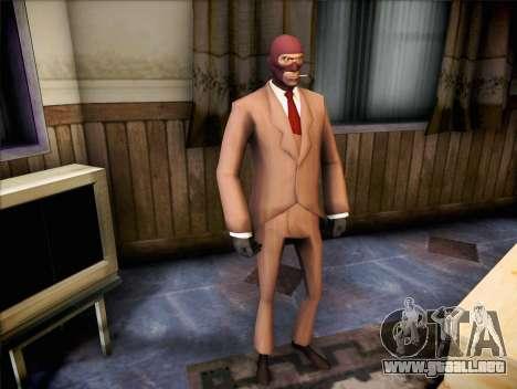 Espía de Team Fortress 2 para GTA San Andreas segunda pantalla