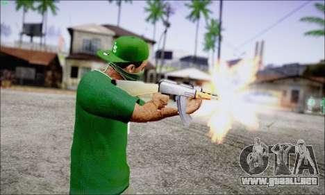 Lamar Davis GTA V para GTA San Andreas segunda pantalla