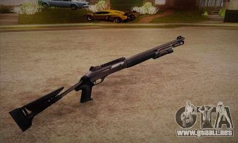 La escopeta del Left 4 Dead 2 para GTA San Andreas segunda pantalla