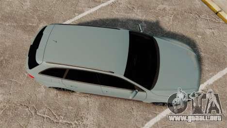 Audi RS4 Avant para GTA 4 visión correcta