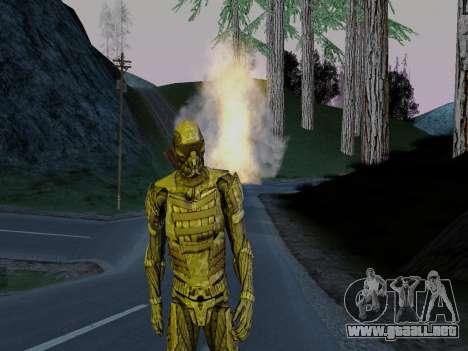 Nano-traje Coreano de Crysis para GTA San Andreas