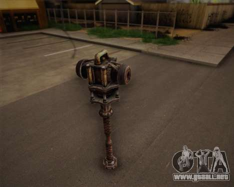 Mutante bate de Fallout 3 para GTA San Andreas segunda pantalla