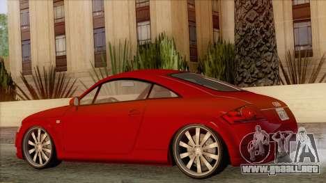 Audi TT 1.8T para GTA San Andreas left