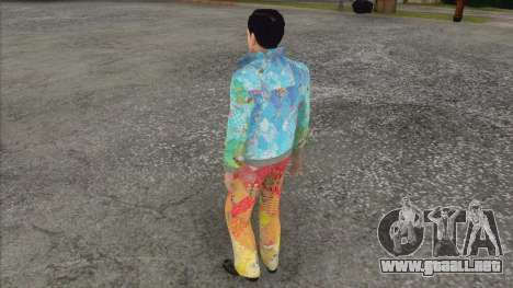 Vito Skalleta en forma de Sochi 2014 para GTA San Andreas tercera pantalla