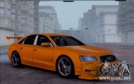 Audi A8 2010 para GTA San Andreas