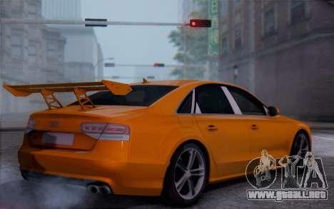 Audi A8 2010 para GTA San Andreas left