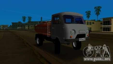 UAZ 465 camión para GTA Vice City left