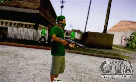 Lamar Davis GTA V para GTA San Andreas tercera pantalla