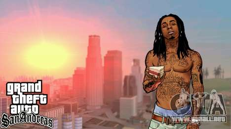 Loadscreens American Rap para GTA San Andreas segunda pantalla