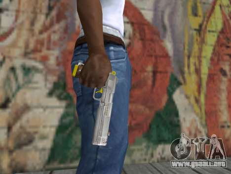 Ebony para GTA San Andreas tercera pantalla