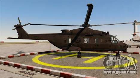Eurocopter NHIndustries NH90 [EPM] para GTA 4 left