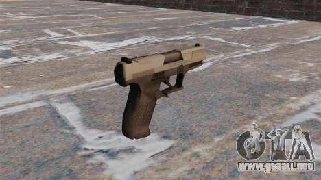 Pistola semiautomática Walther P99 MW3 para GTA 4 segundos de pantalla