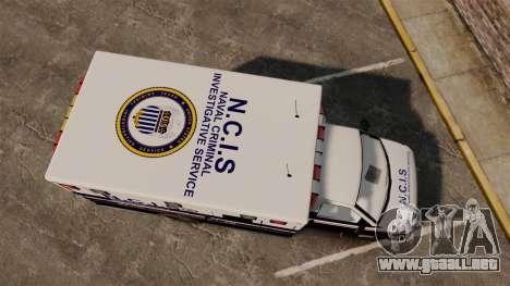 Brute NCIS [ELS] para GTA 4 visión correcta