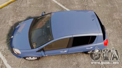Renault Clio III Phase 2 para GTA 4 visión correcta