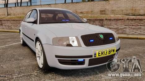 Skoda Superb 2006 Unmarked Police [ELS] para GTA 4