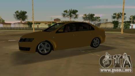 Skoda Rapid 2013 para GTA Vice City left