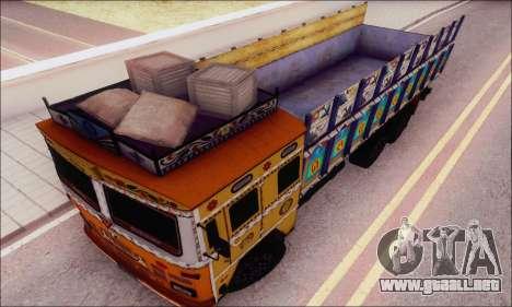 TATA 2515 para la visión correcta GTA San Andreas