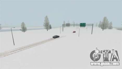 Ubicación del país de las maravillas del Ártico para GTA 4 quinta pantalla