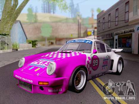 Porsche 911 RSR 3.3 skinpack 6 para GTA San Andreas left