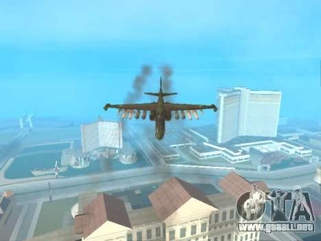 Su 25 para visión interna GTA San Andreas