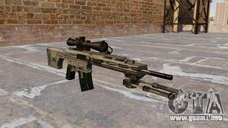 Rifle de francotirador Remington R11 RSASS para GTA 4