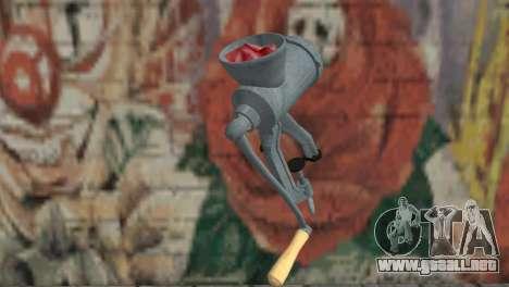 Picadora de carne para GTA San Andreas segunda pantalla