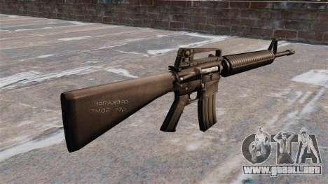 Fusil semiautomático AR-15 Armlite para GTA 4 segundos de pantalla