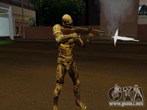 Nano-traje Coreano de Crysis para GTA San Andreas quinta pantalla