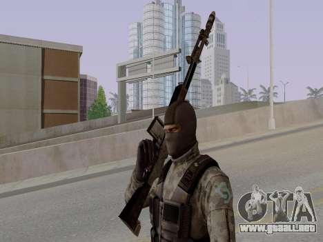 Cell para GTA San Andreas octavo de pantalla