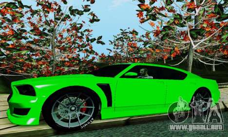 Búfalo de GTA V para la vista superior GTA San Andreas
