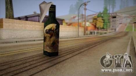 Cóctel Molotov de Max Payne para GTA San Andreas segunda pantalla