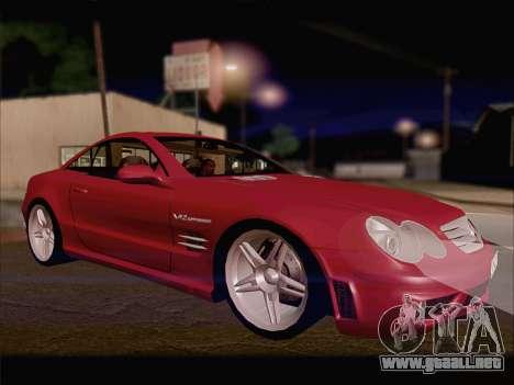 Mercedes SL500 v2 para GTA San Andreas left