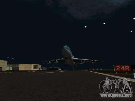 Boeing-747-400 Airforce one para visión interna GTA San Andreas