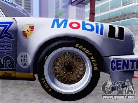 Porsche 911 RSR 3.3 skinpack 1 para la visión correcta GTA San Andreas