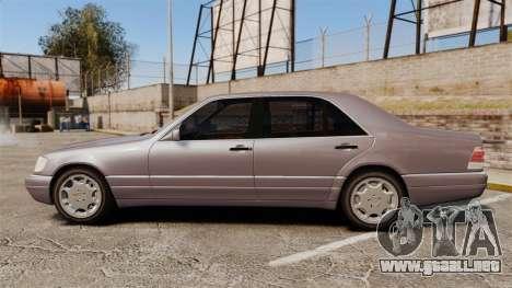 Mercedes-Benz S600 W140 para GTA 4 left
