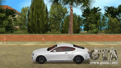 Bentley Continental Extremesports para GTA Vice City left