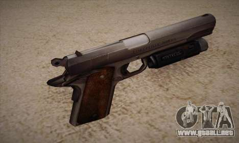 El arma de Left 4 Dead 2 para GTA San Andreas segunda pantalla