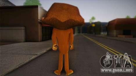 Alex para GTA San Andreas segunda pantalla